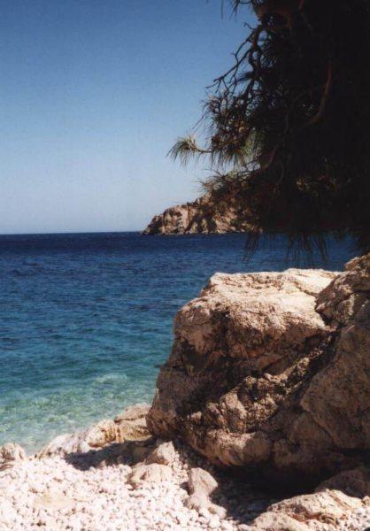 Kiezelstrand Karpathos