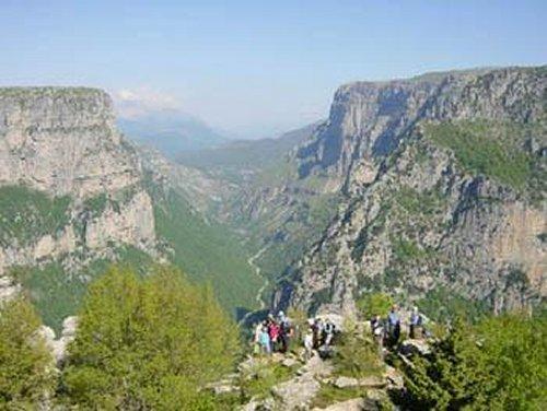 Vikos kloof in Epirus