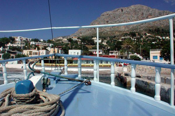 Gemaakt op de boot van Kalymnos naar Telendos in mei 2002 door H. Kerkhof