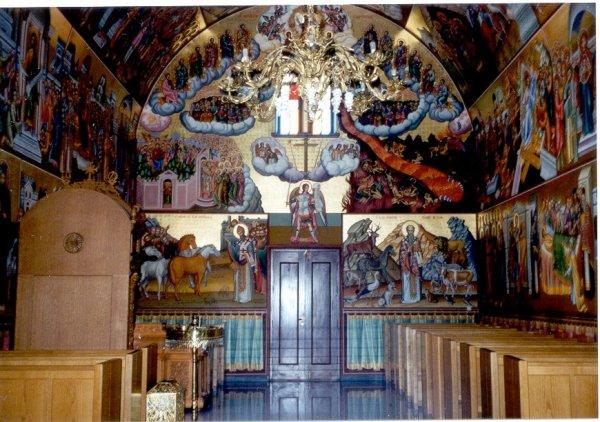 Kalymnos, in de kerk van het klooster van Savas foto gemaakt door  H. Kerkhof