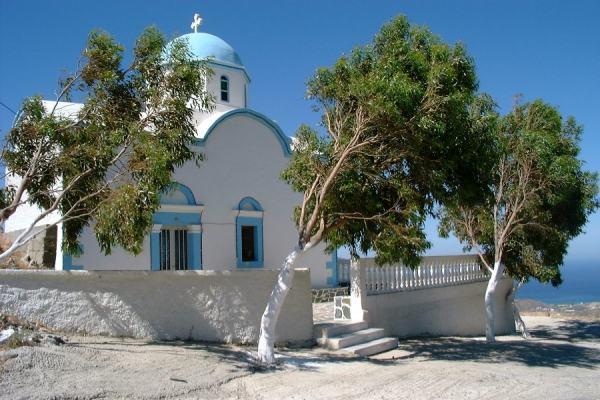 Karpathos, Hoog boven Pigadia, daar,  waar de wind altijd waait...  foto: Joyce R. Bos