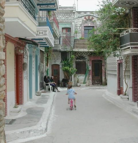 Chios, Pirgi. Foto gemaakt door Xavs