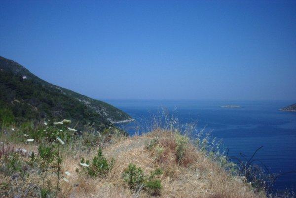 Noord-oost Samos foto gemaakt door Renée Mof