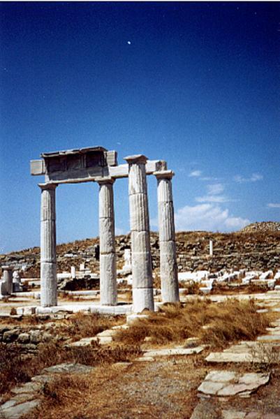 Delos Cycladen -  Foto: Dennis Goes