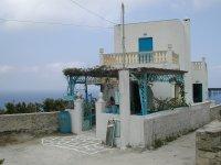 Kafenion Skopi in Mesochori Karpathos - Foto van Annie Spijker