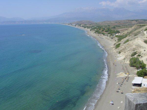 Komos en Kalamaki strand Kreta