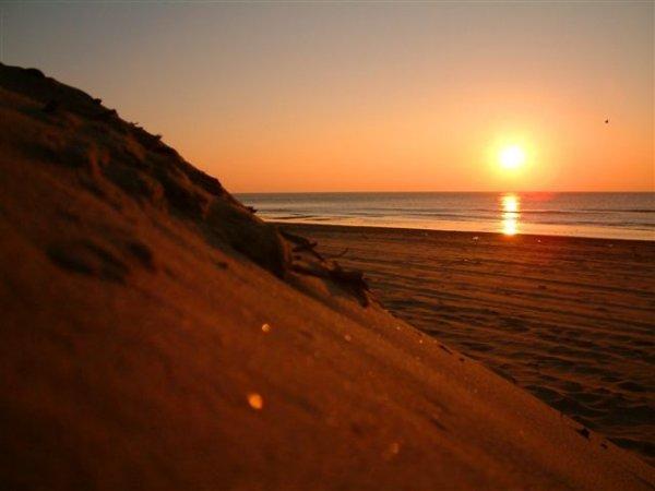 Zonsondergang in Malia