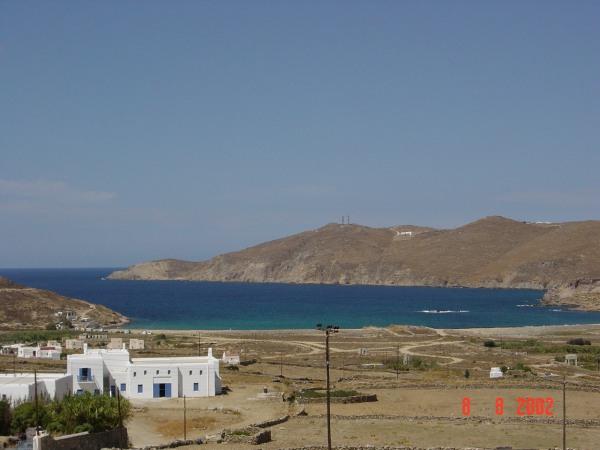 Mykonos, een vrij kaal eiland eigenlijk