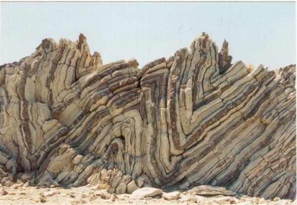 Prachtige rotsformaties Agios Pavlos Kreta
