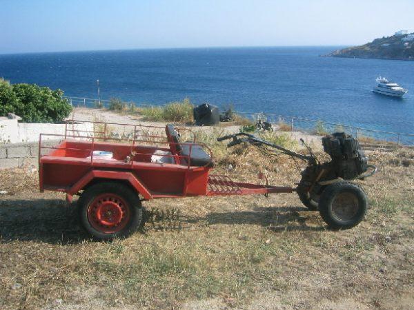 Vervoermiddel op Mykonos