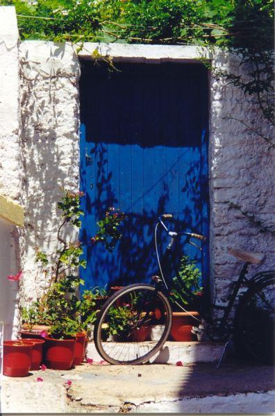 Fiets op Skopelos