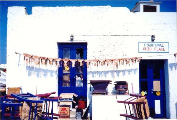Ouzeri in Griekenland