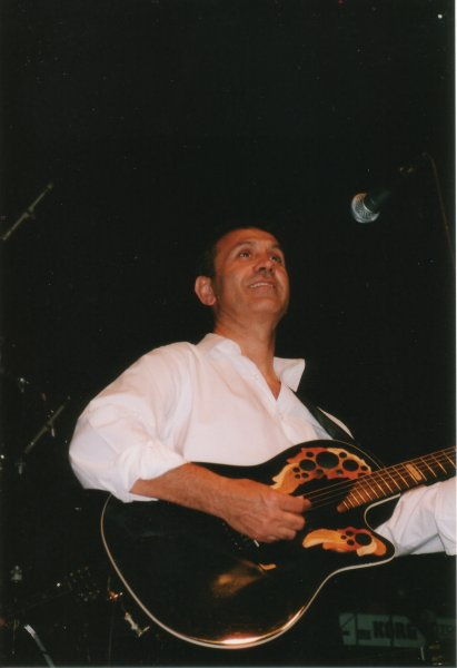 Georgos Dalaras Congres Centrum te Den Haag. (25 mei 2001) - Foto: Katinka Drost