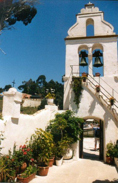 Paleokastritsa kerk Corfu