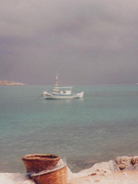 Vissersbootje Kreta