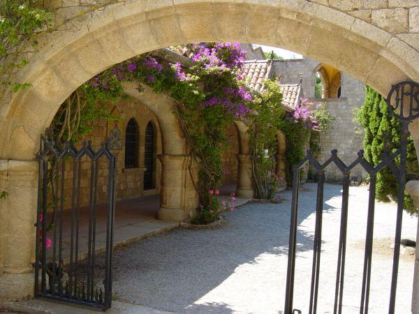 Rhodos. Het klooster bij Filerimos