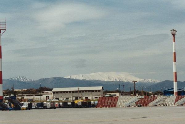 Sneeuw op Kreta