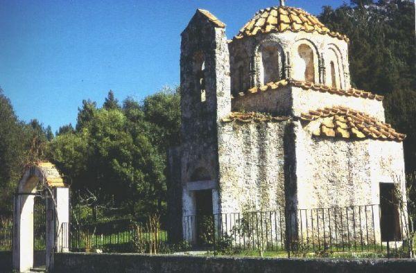 Agios Nikolaos-kerk op Rhodos