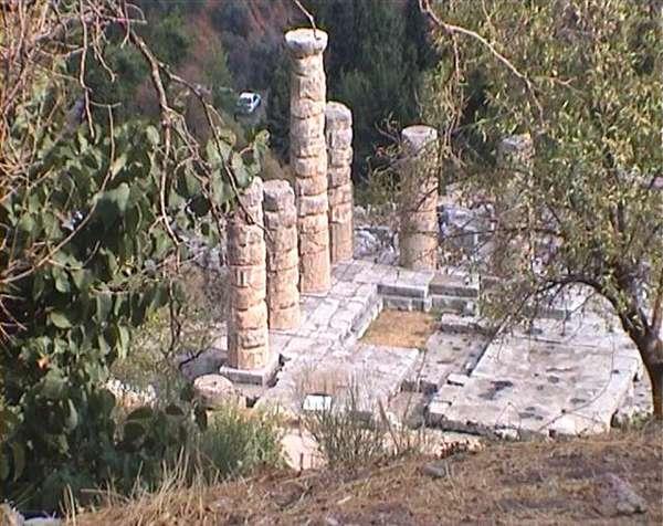 Delphi, de tempel van Apollo