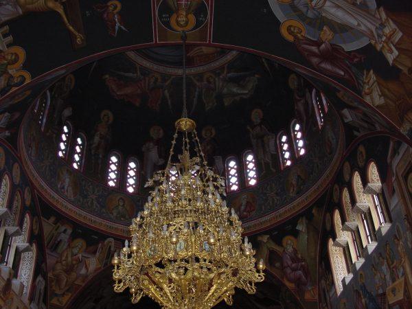 Kerk in Kalamata in Messinia
