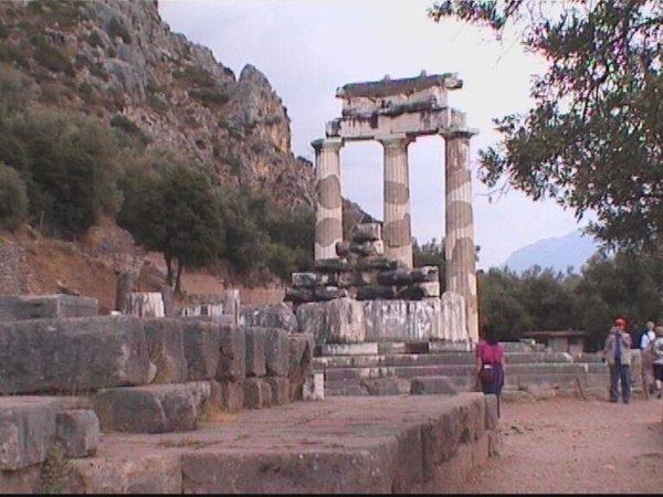 De Tholos bij Delphi