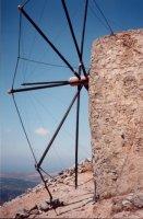 Windmolen op Lassithi vlakte - Foto van Monique en Ron Walther