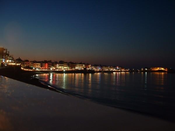 Kreta, Chersonissos by night