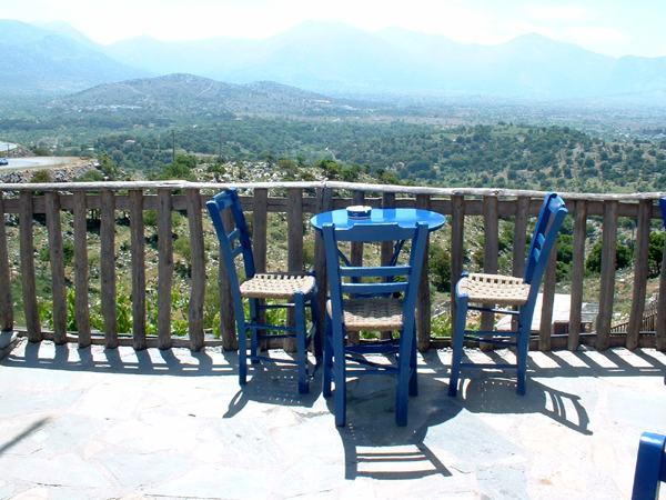 Kreta. De Lassithi hoogvlakte