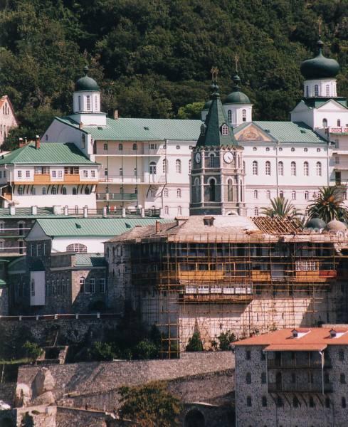 Athos: Agiou Panteleimonos klooster