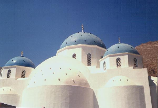 Kerk Santorini