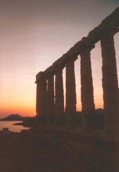 Sounion, ten zuiden van Athene