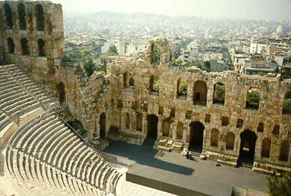 Herodes Atticus Theater Athene