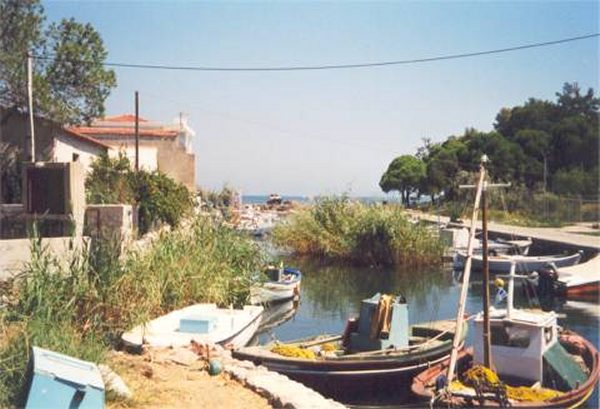 Haventje Chios