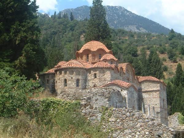 Mystras kerk