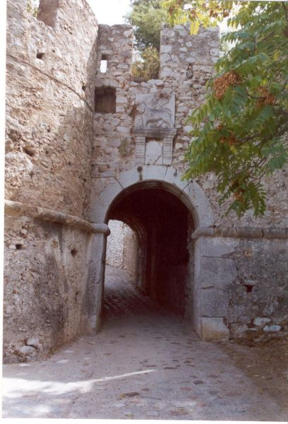 Kasteel Nafplion, Argolis
