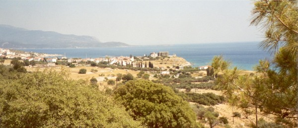 Bij Pythagorion Samos