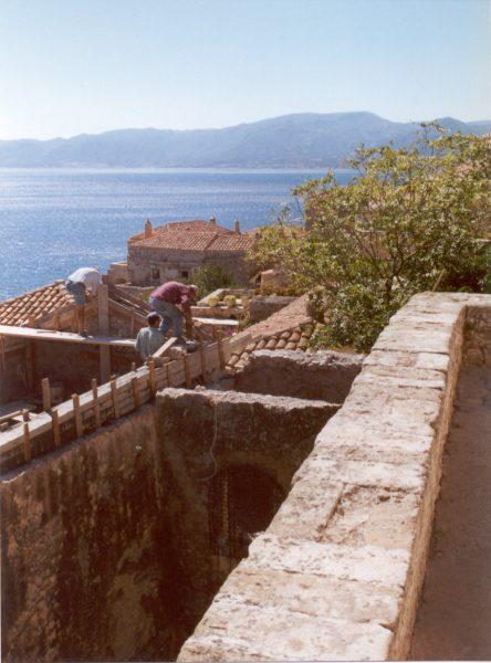 Monemvasia, zuid-oost Peloponnesos
