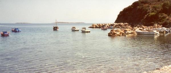 Samos vissersbootjes