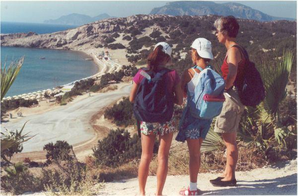 Paradise beach in Kefalos, Kos
