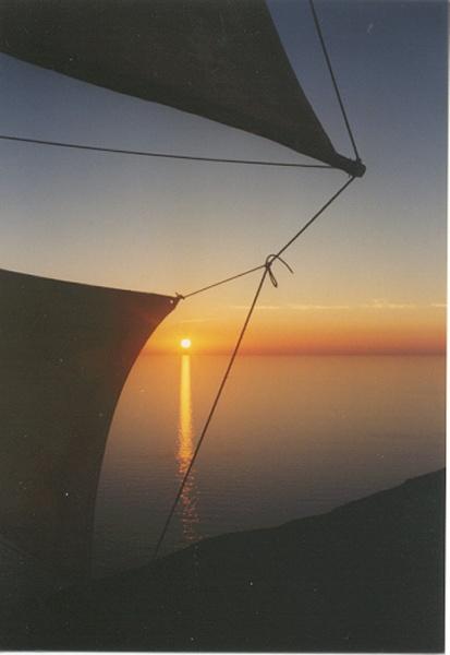 Karpathos zonsondergang