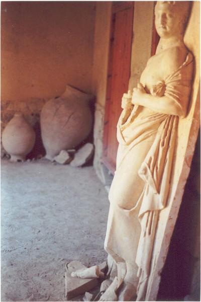 Casa Romana in Kos-stad