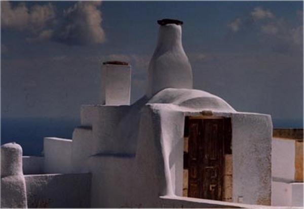 Architectuur op Santorini