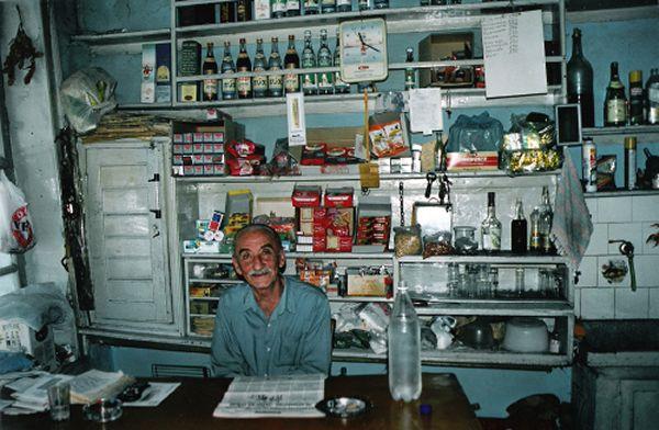 Traditioneel Winkeltje Griekenland