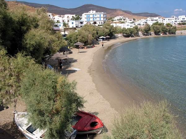 Strand op Syros