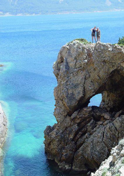 Sidari, lekker gevaarlijk doen! Corfu