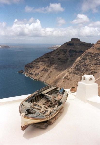 Vulkanisch Santorini