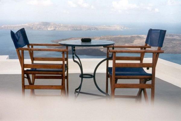 Tafeltje voor twee, Santorini