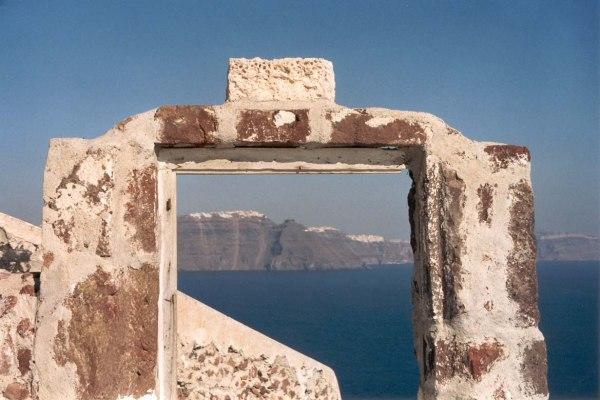 Bij Oia, Santorini