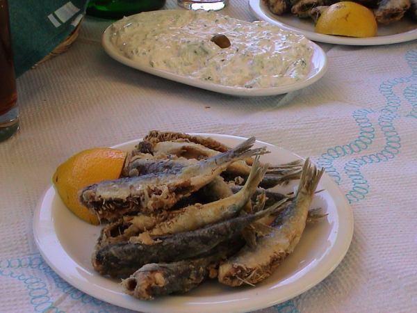Sardines op Lesbos