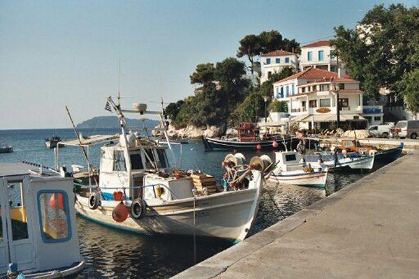 Skiathos, vissershaven